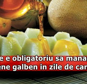 De ce e obligatoriu sa mananci pepene galben in zile de canicula