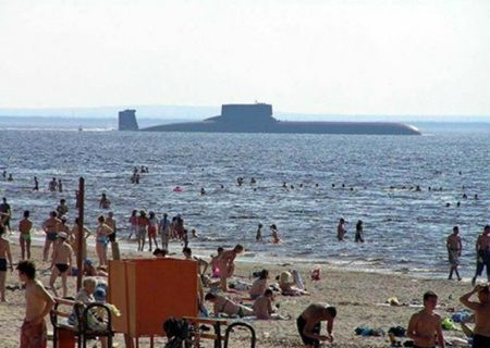 Parea o zi normala la plaja, dar cand turistii au privit in larg, s-au ingrozit!