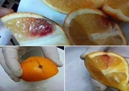 Panica printre oameni: Pe piata au aparut portocale infectate cu sange HIV