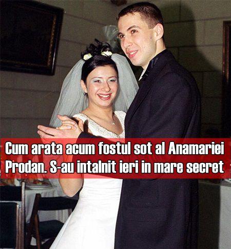 Cum arata acum fostul sot al Anamariei Prodan. S-au intalnit ieri in mare secret