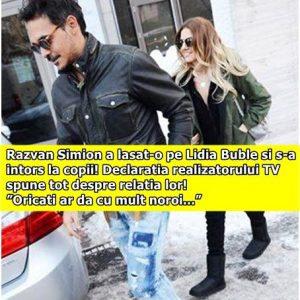 """Razvan Simion a lasat-o pe Lidia Buble si s-a intors la copii! Declaratia realizatorului TV spune tot despre relatia lor! """"Oricati ar da cu mult noroi…"""""""