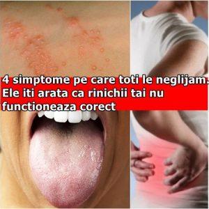 4 simptome pe care toti le neglijam. Ele iti arata ca rinichii tai nu functioneaza corect