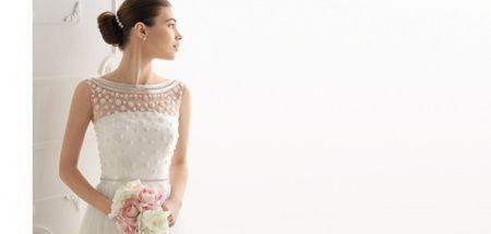 Tendinte in rochii de mireasa 2014