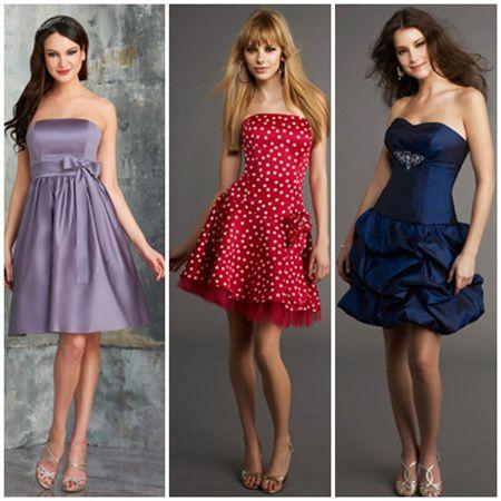 Rochii pentru domnisoarele de onoare 2014