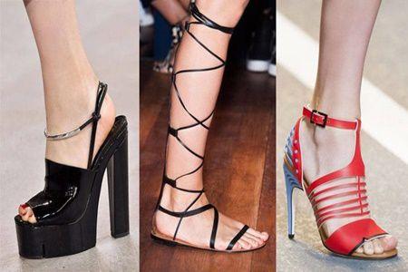 Ce modele de sandale se poarta in vara 2016
