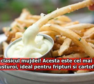 Uita de clasicul mujdei! Acesta este cel mai tare sos de usturoi, ideal pentru fripturi si cartofi prajiti!