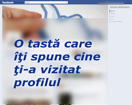 O tasta iti arata cine ti-a vizitat profilul de Facebook. Tot ce trebuie sa faci este sa apesi ACEASTA TASTA