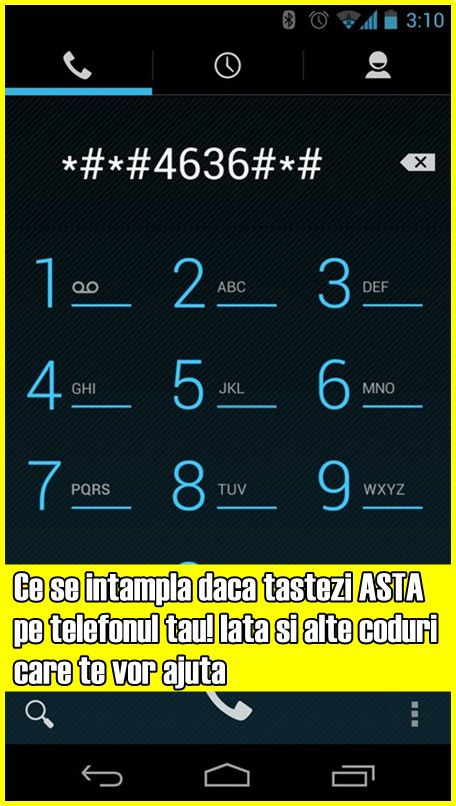 Ce se intampla daca tastezi ASTA pe telefonul tau! Iata si alte coduri care te vor ajuta