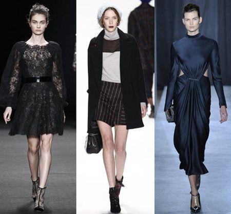 Moda toamna 2014: tonuri intunecate si minimalism