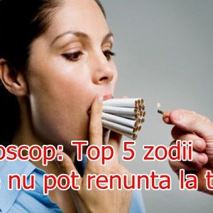 Horoscop: Top 5 zodii care nu pot renunta la tigari
