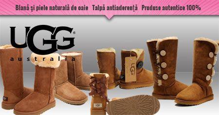Cum sa iti rasfeti iarna picioarele cu cizme UGG Australia in Romania