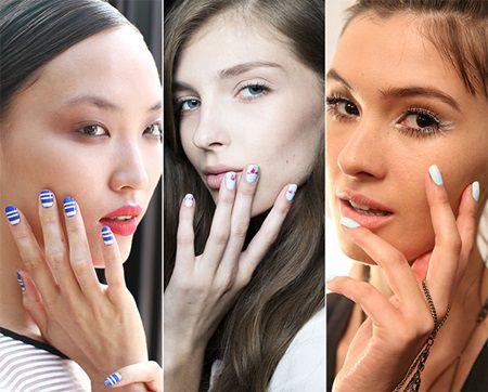 Manichiura toamna 2015: se poarta unghiile rotunjite