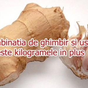Ghimbir si usturoi – o combinatie miraculoasa care topeste kilogramele in plus