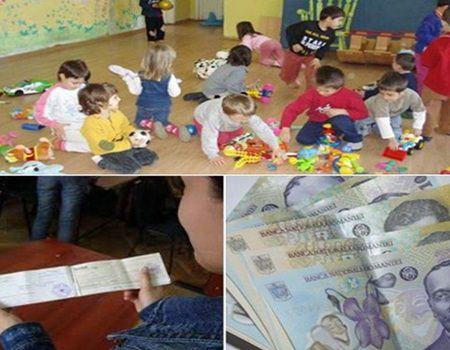 1000 DE LEI pe luna pentru copii!