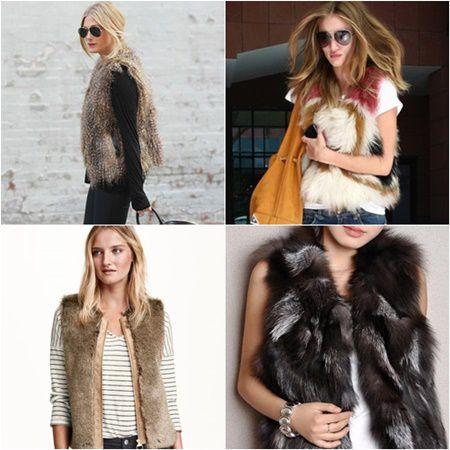 5 modele de veste din blana pentru femei stilate si elegante