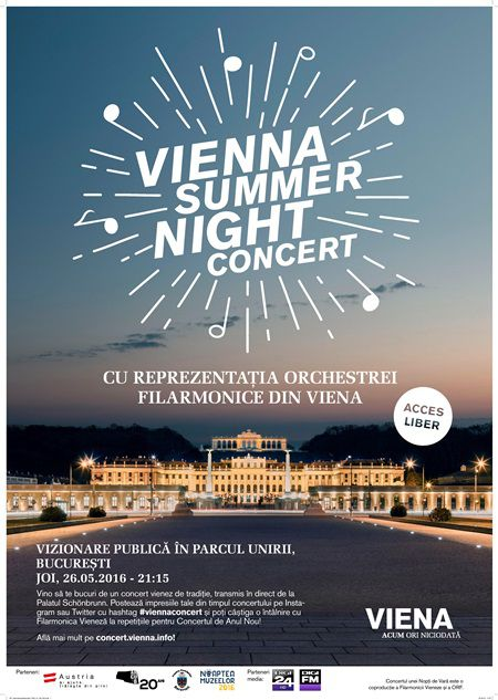 Un picnic nocturn cu soundtrack vienez – Vienna Summer Night Concert