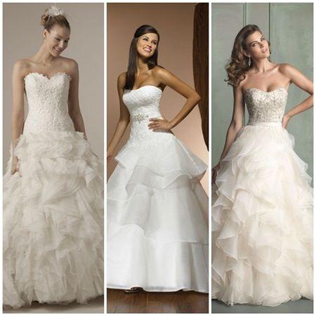 Tendinte rochii de mireasa toamna-iarna 2015-2016