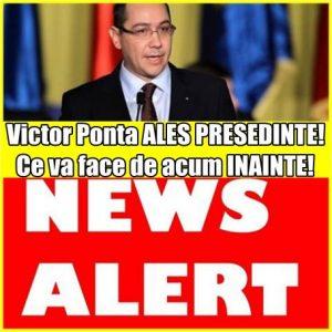 Victor Ponta ALES PRESEDINTE! Ce va face de acum INAINTE!