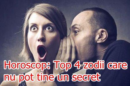 Horoscop: Top 4 zodii care nu pot tine un secret